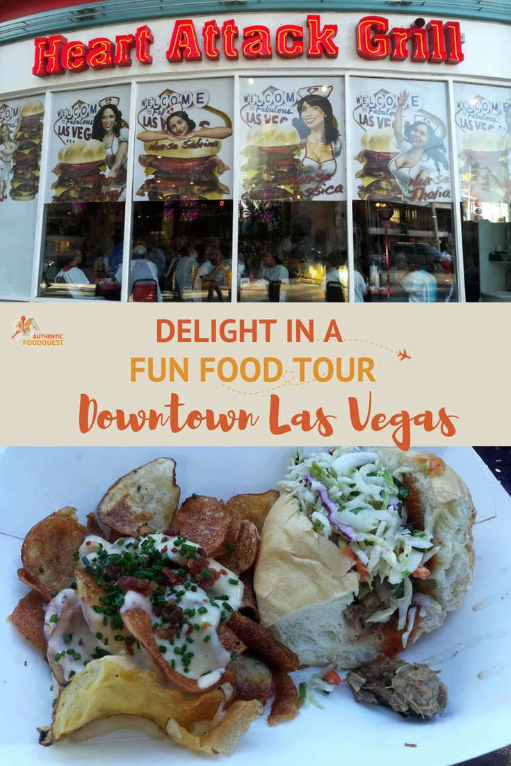 Delight in a fun downtown las vegas food tour with
