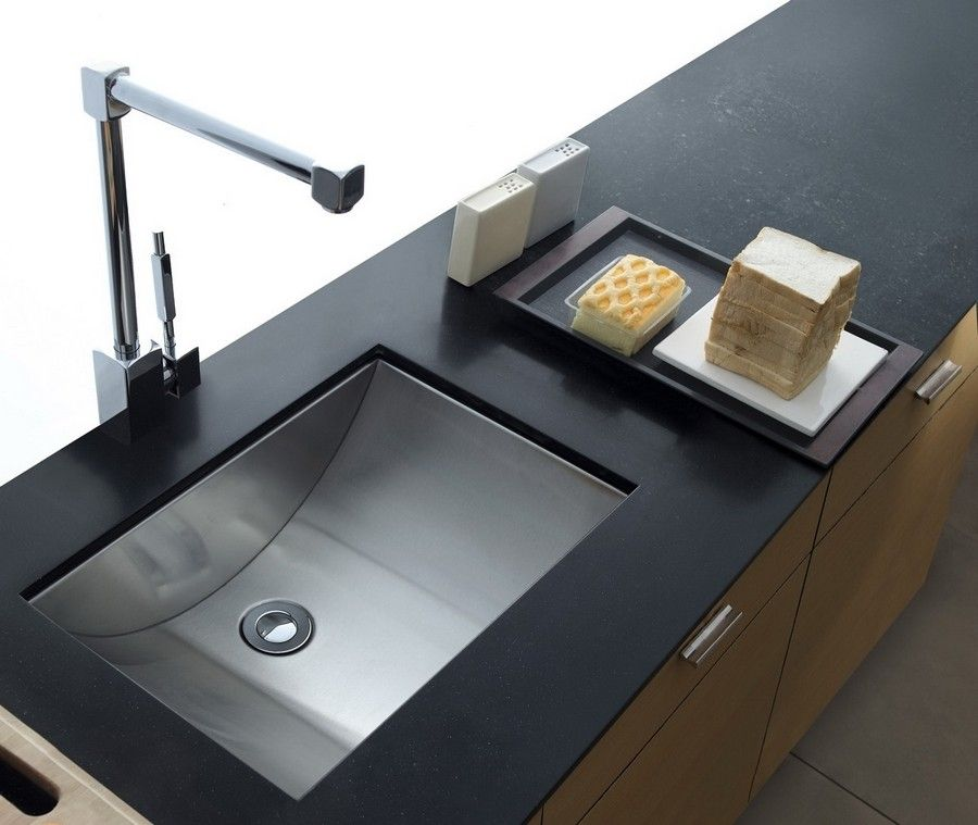 Cantrio Koncepts MS-012 Stainless Steel Undermount Sink with Brushed ...