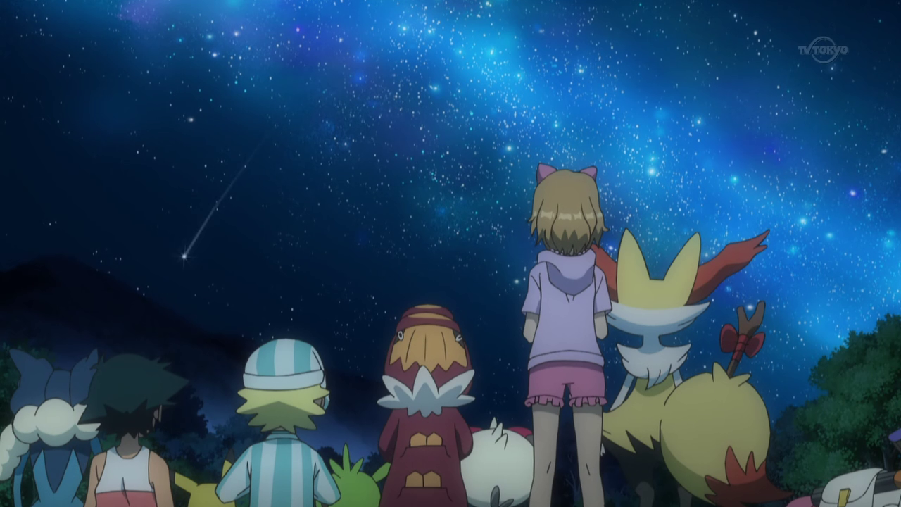 Ash and Pikachu with their Kalos friends ^.^ <3
