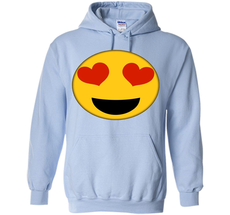 Emoji Shirt Heart Eyes Emoji Face Costume Cute Fun Shirt