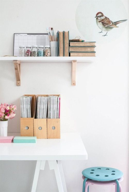 tidy up your workspace (via dressed by style)