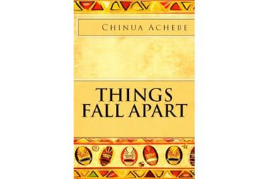 Things Fall Apart by Chinua Achebe - 1958 novel by Nigerian author, wrestler, and town leader.  He loses his temper and causes his family to be thrown out of their village for 7 years.  While they are gone, European missionaries come, and so the village he returns to years later is vastly different than the one he left.