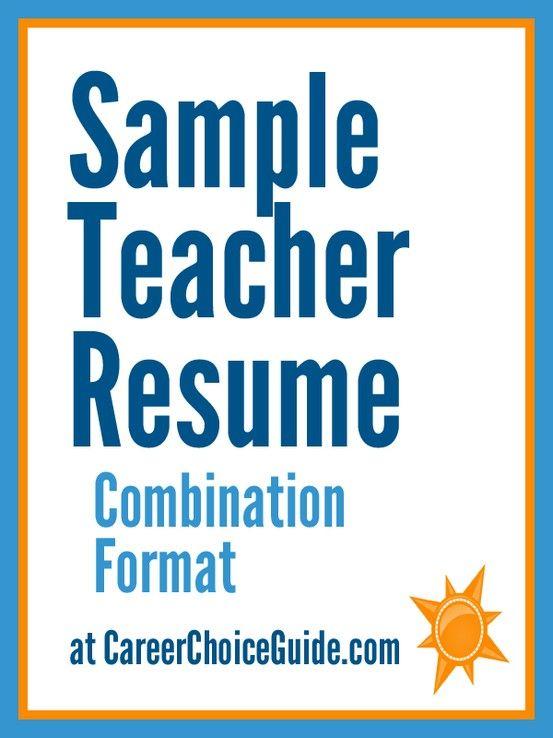 Sample elementary school teacher resume with summary of skills ...