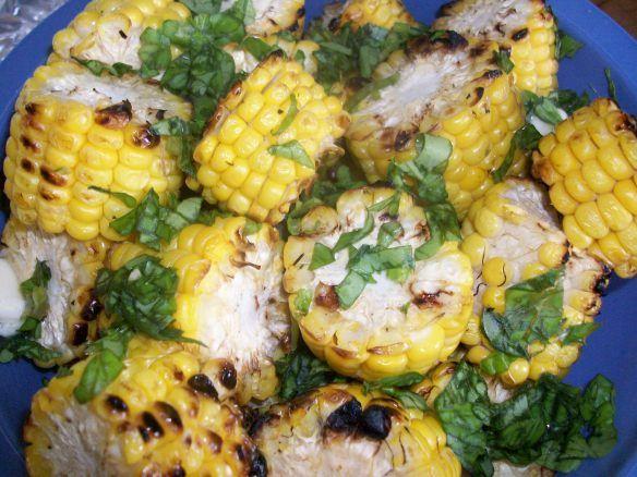 Grilled Corn Discs