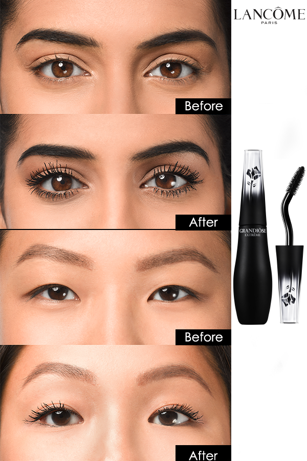 fa1336f8573 Say hello to Lancôme's most extreme mascara yet. The Swan Neck Wand was  made to