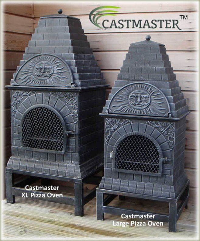 Buy The Castmaster   Versace Style Cast Iron Outdoor Pizza Oven Online From  The Largest Range