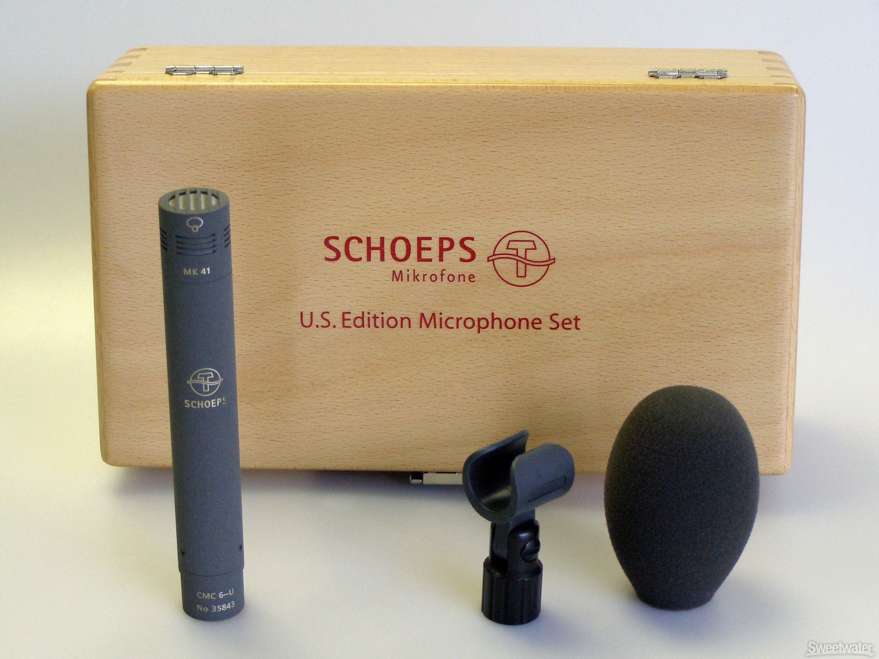 Schoeps Colette Series Cmc641 Set Modular Small Diaphragm Condenser Microphone With Supercardioid Capsule Microphones Microphone Audio Music