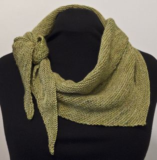 Sweetie scarf and shawl pattern set. Two simple patterns, both great stash busters!