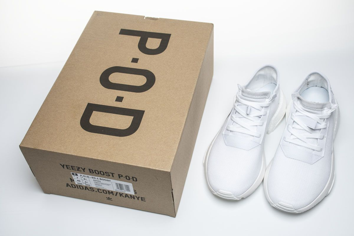 Adidas POD S3 1 Boost B37452 Triple White Shoes Other