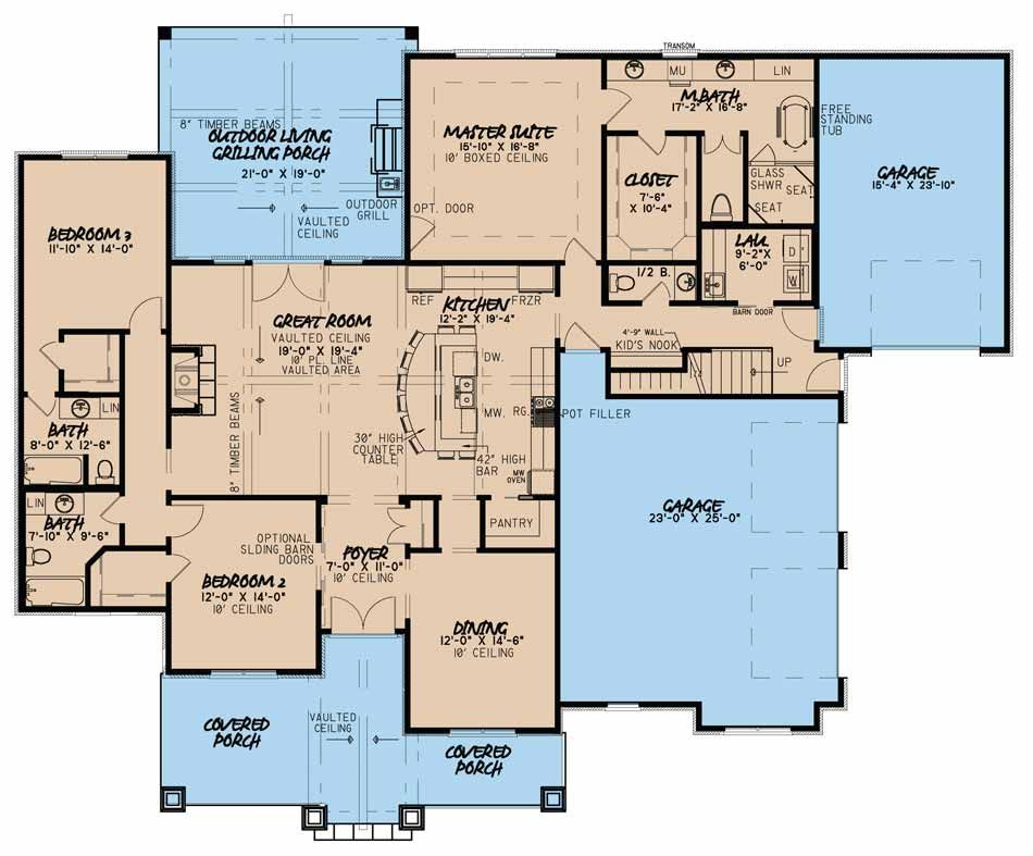 5042 ashland place | nelson design group | perfect house plan
