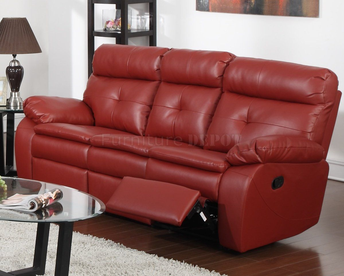 Recliner Sofa Furniture furniture red