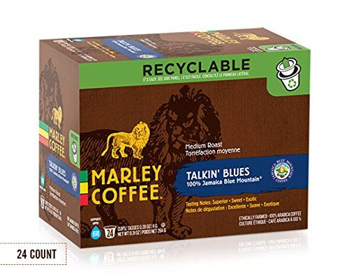 Marley Coffee KCup Coffee Jamaica Blue Mountain 24 ct More info