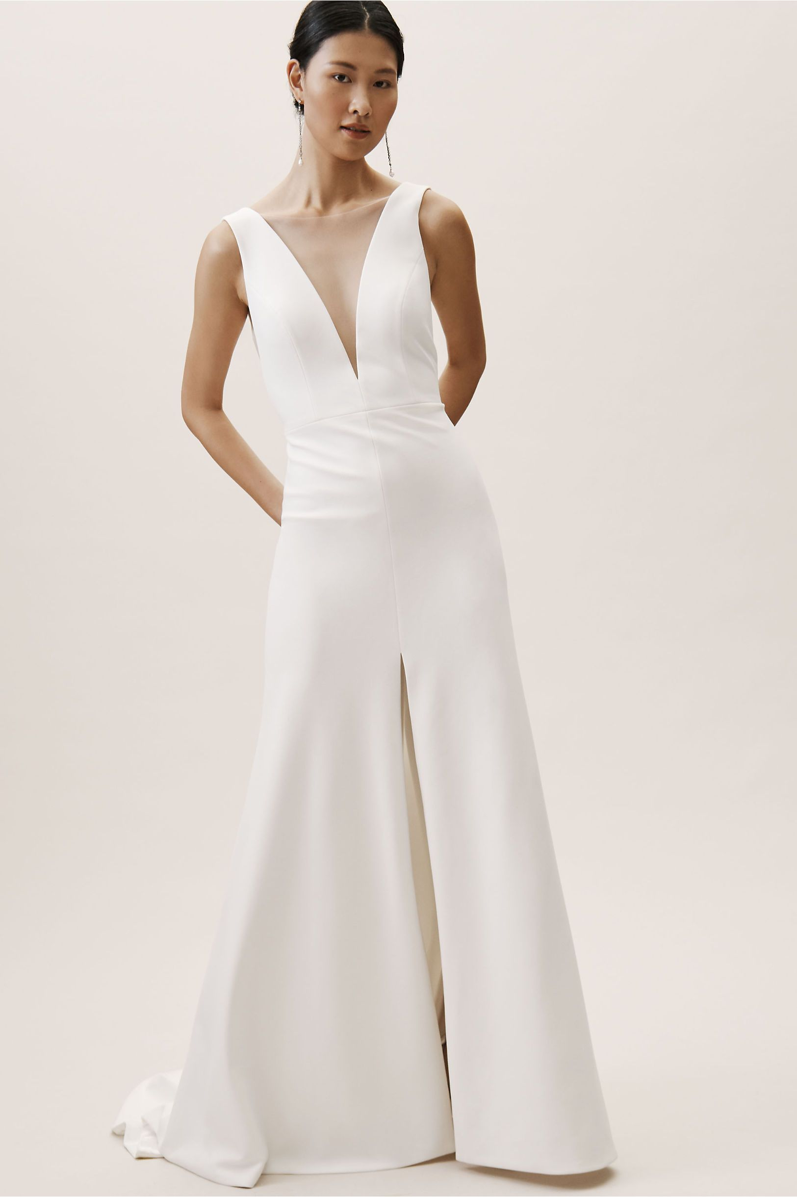 af4987251566 BHLDN's Jenny by Jenny Yoo Holloway Gown in Ivory in 2019 | Products ...