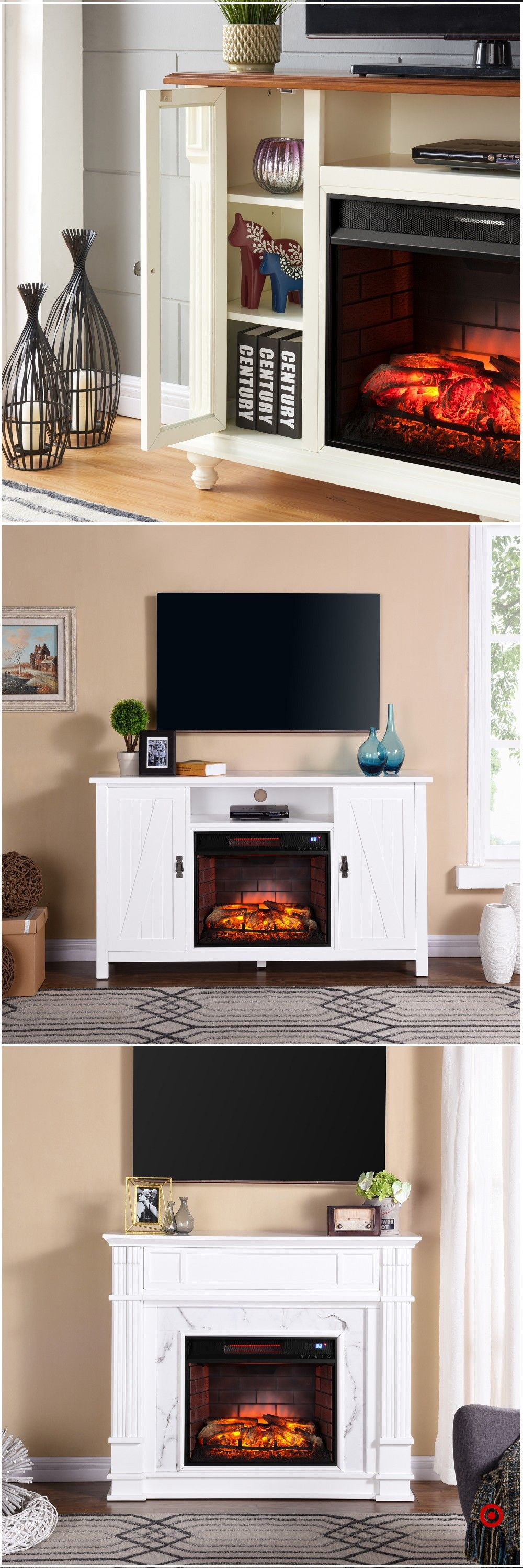 Room Design Free: Shop Target For Tv/media Stand Fireplace You Will Love At
