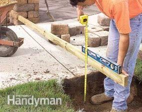 Inexpensive Landscaping for Attractive Entryways #familyhandymanstuff