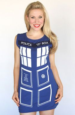 Doctor Who TARDIS Dress (Small)  sc 1 st  Pinterest : tardis costumes  - Germanpascual.Com