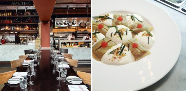 Buca Communal Table Restaurants And Ravioli - High top communal table