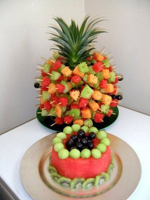 fruit for bridal showers pineapple fruit display bridal shower ideas