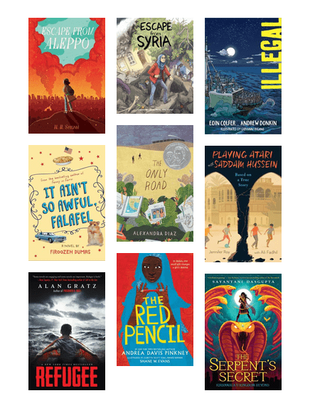 Where In The World Immigration And Refugee Stories For Middle Grade Readers Check Out These Stories About Kids And Teens Refugee Stories Gratz Summer Reading