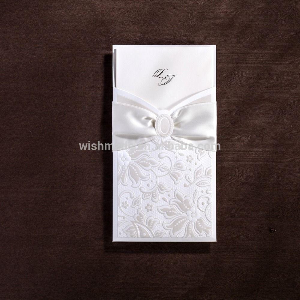 New Arrival Laser Cut Wedding Invitation Card Cw5193 - Buy Wedding ...