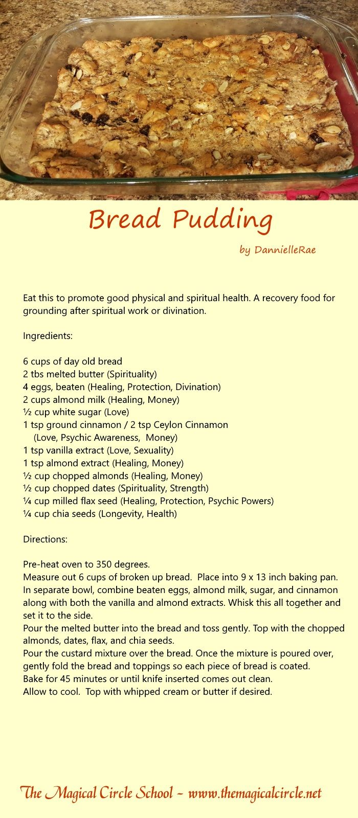 Kitchen Witch Health Spell Grounding Spiritual Health By DannielleRae The