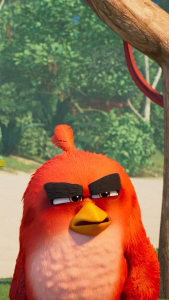 Angry Birds Movie 2 Bomb Red Chuck 4k Click Image For Hd Mobile And Desktop Wallpaper 3840x2160 1920 Angry Birds Movie Angry Birds Movie Red Angry Birds