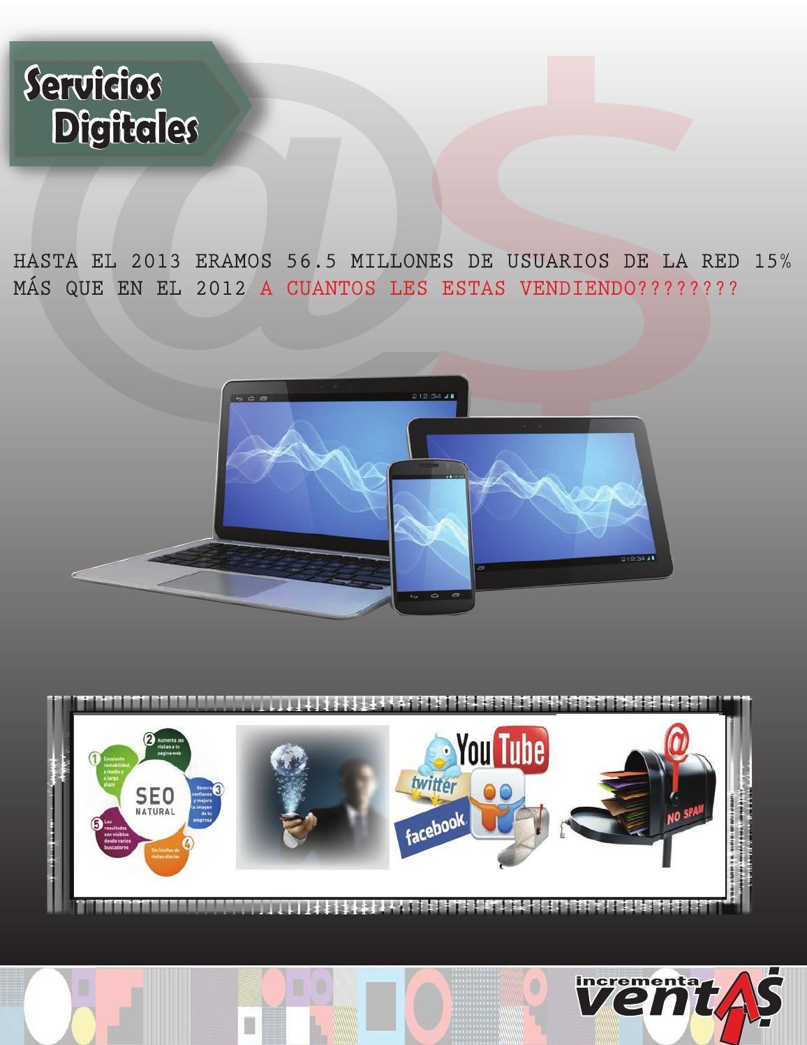 Catálogo productos on line  Optimización SEO (Optimización Página WEB), Google Adwords (pago por Click), Páginas WEB, Redes Sociales, Facebook Ads, E-mail Marketing.
