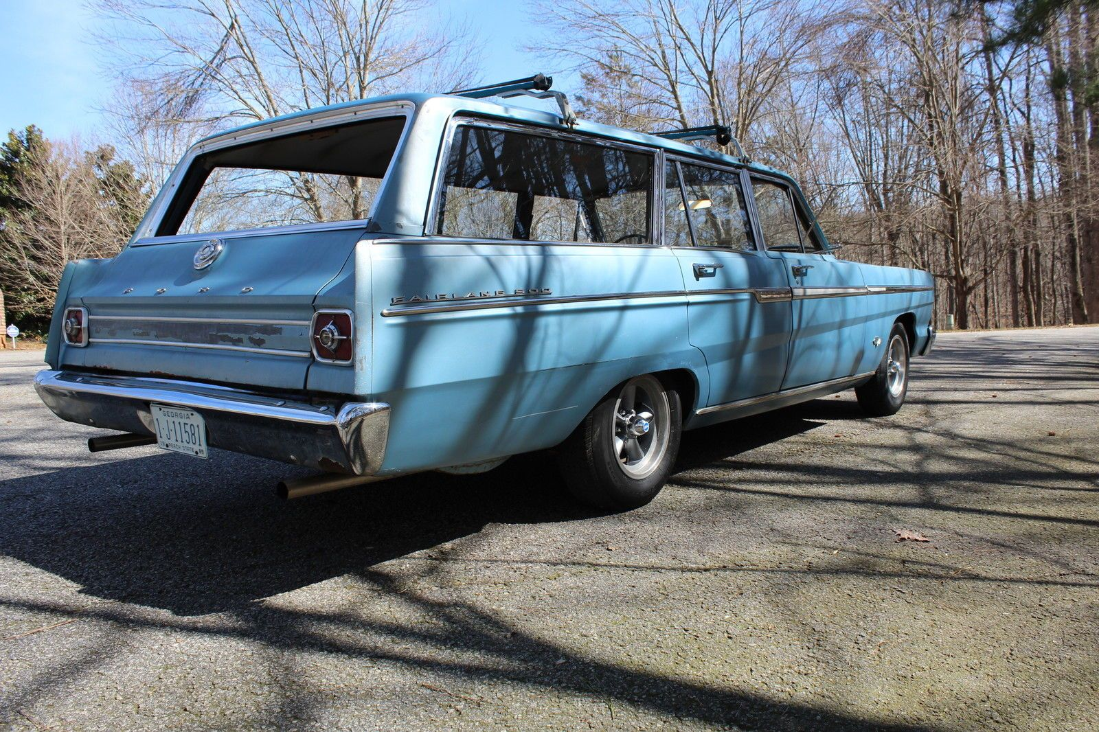 65 Ford Fairlane 500 Station Wagon Ford Fairlane Fairlane