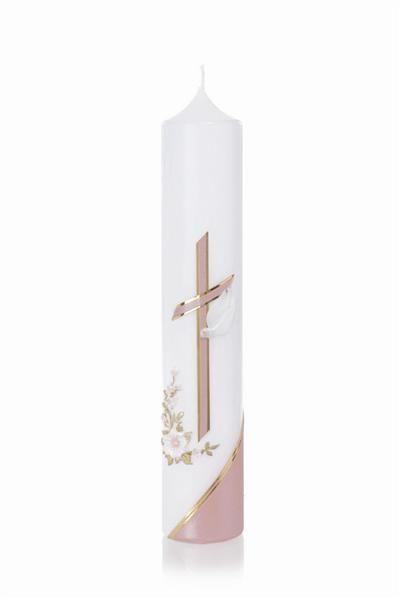 Taufkerze Nr 102 Gold Silber Kerzen Kerzen Dekorieren Und
