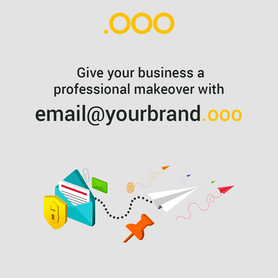 Give Your Business A More Professional Image With Business Email Along With A Domain Name Get An Email That Is Branded W Business Emails Business Free Website
