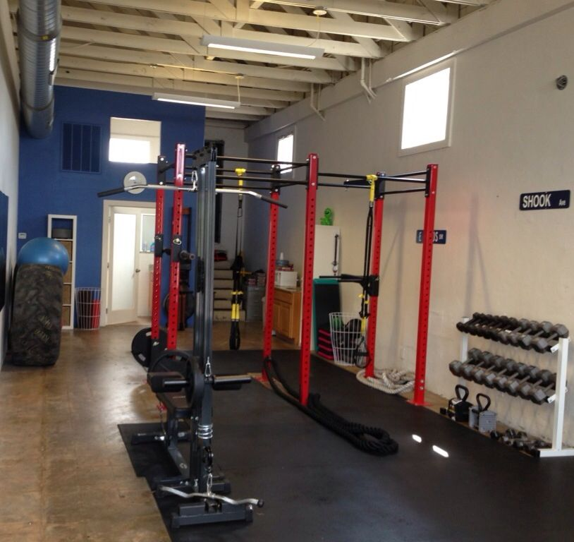 My personal training studio fitness gym gym room gym design