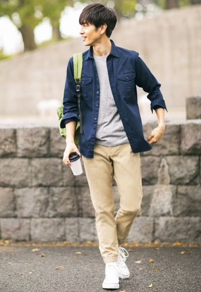 Uniqlo Styling Book Asian Men Fashion Mens Fashion Casual Mens Outfits