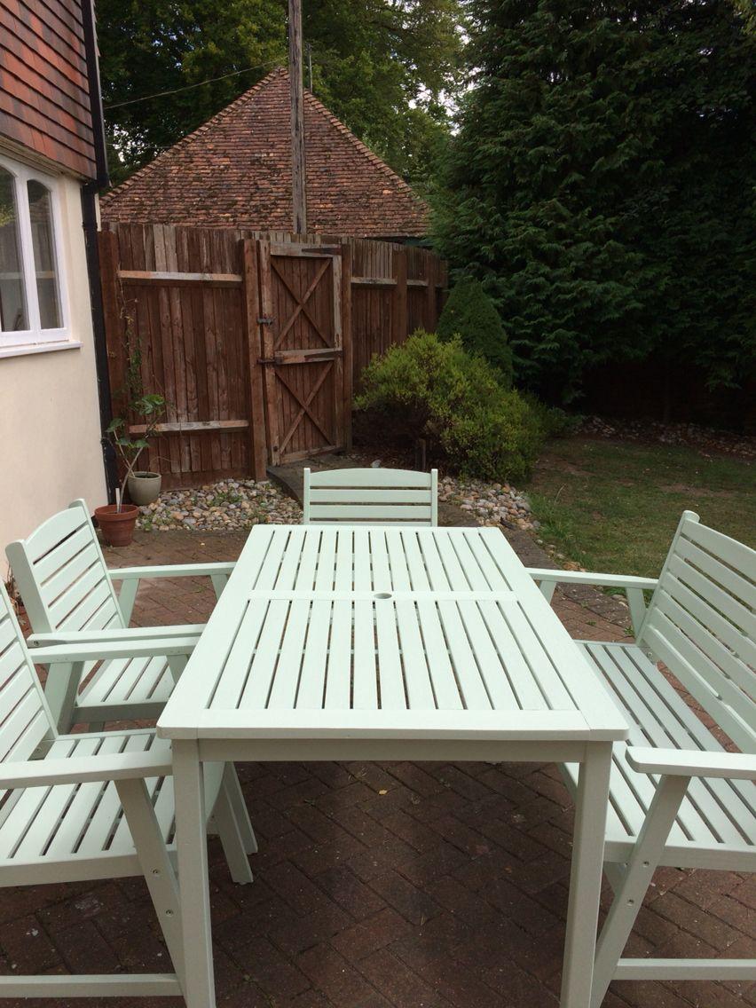 Garden Furniture Makeover Cuprinol Fresh Rosemary