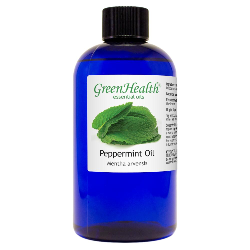 8 Fl Oz Peppermint Essential Oil 100 Pure In Plastic Bottle In 2020 Peppermint Essential Oil Mint Essential Oil Essential Oils
