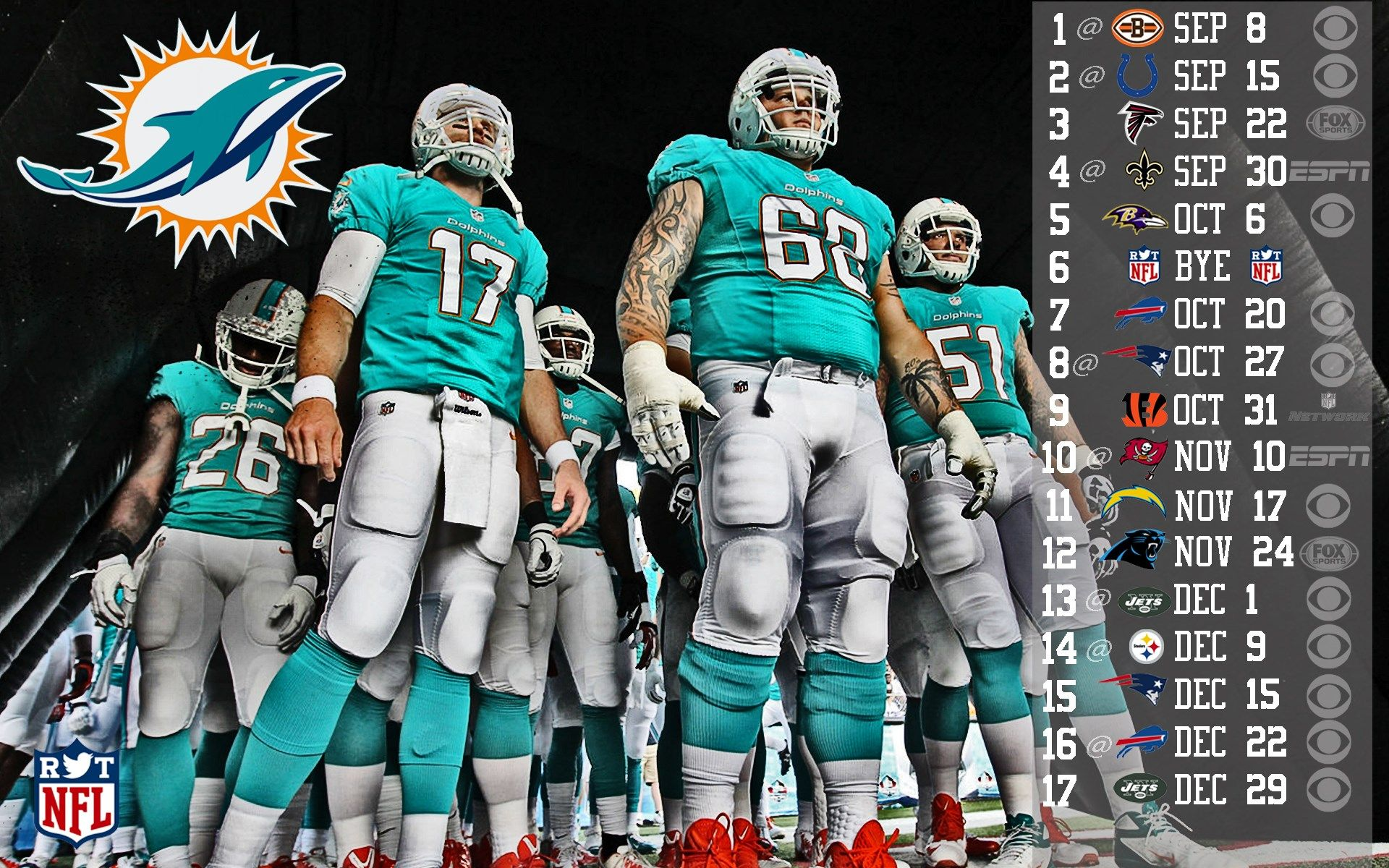 Dolphins Wallpapers Schedule Hd ScheduleMiami DolphinsLive