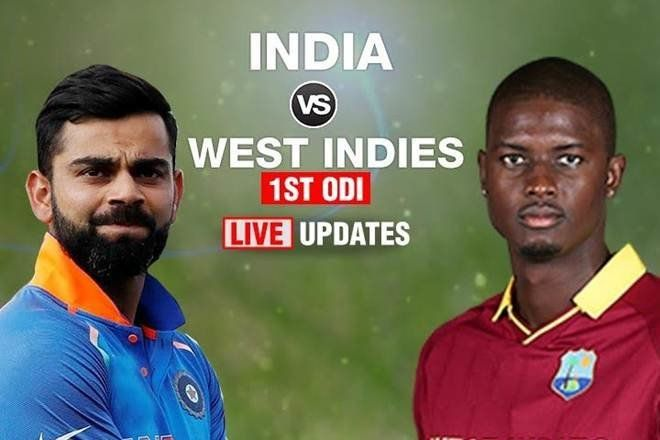News7 Tamil india-2 1st ODI India in West Indies Live Cricket Score