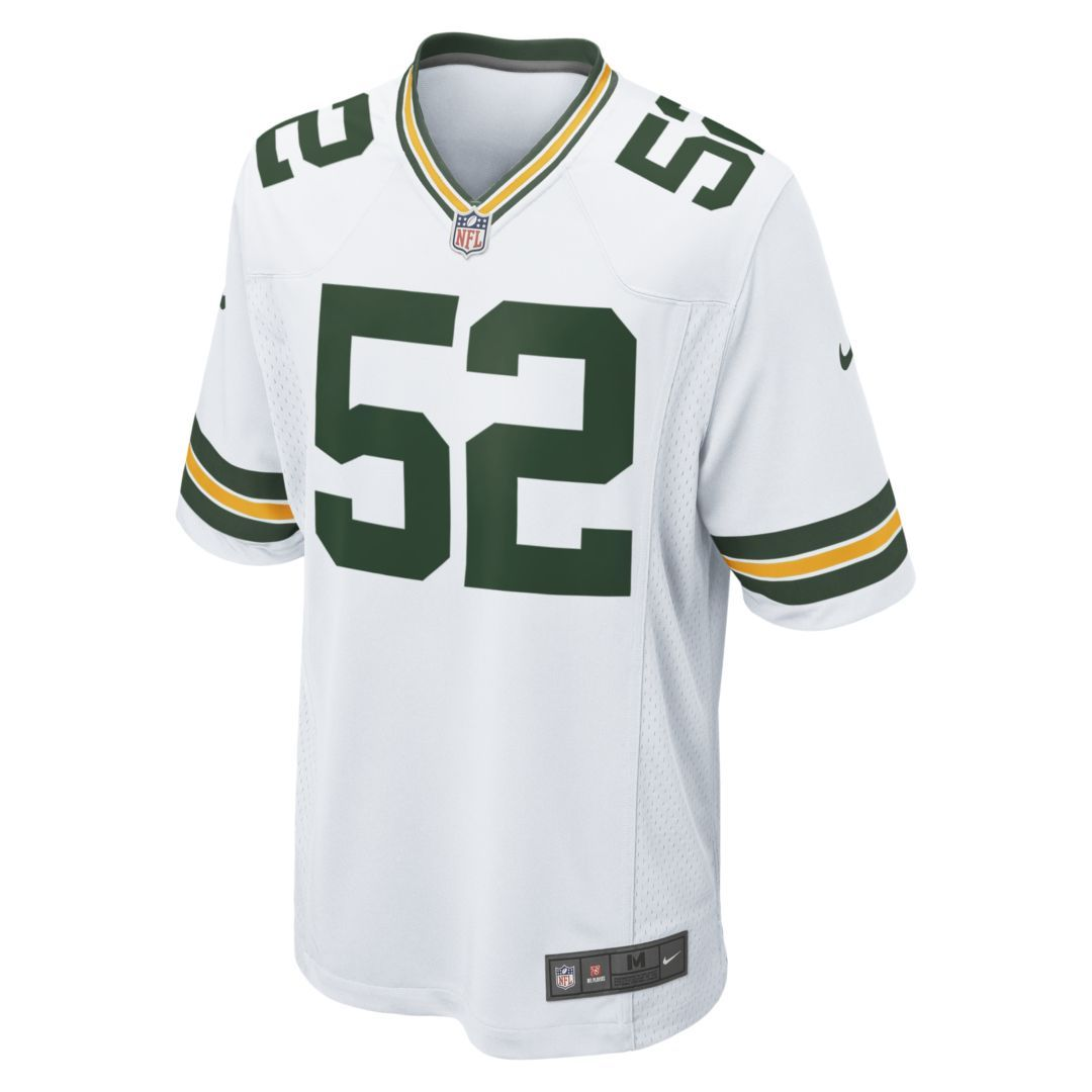 competitive price 6f9c6 87cad NFL Green Bay Packers (Clay Matthews) Men's Football Away ...
