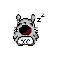 pixel art totoro