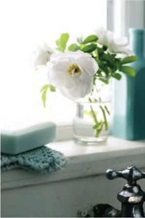 Beautiful Pretty Bathroom Flowers