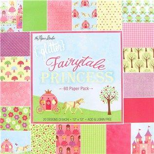 The Paper Studio 12 X 12 Fairytale Princess Paper Pack Shop