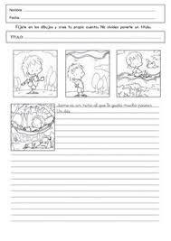 Resultado de imagen de pruebas de expresion escrita 2º primaria