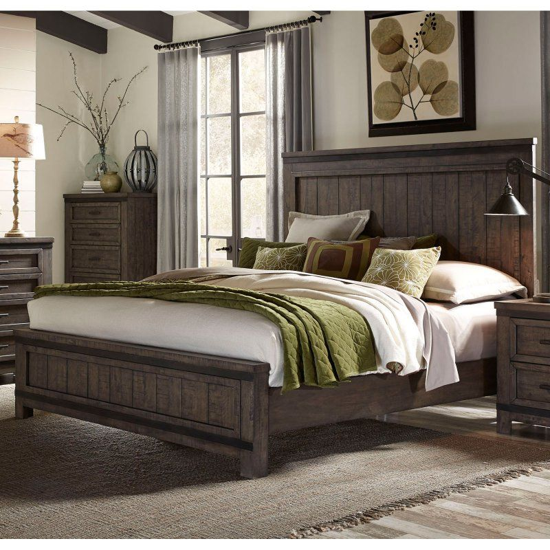 Liberty Furniture Thornwood Panel Bed Size Queen