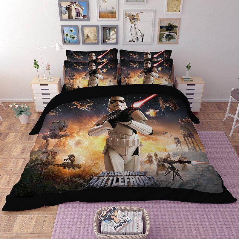 Star Wars Battlefront 3d Star Wars Comforter Duvet Cover Quilt