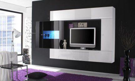 ?. 459,00 mobile soggiorno design moderno completamente sospeso ... - Design Soggiorno Moderno 2