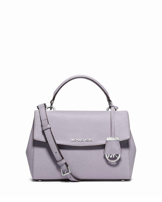 MICHAEL Michael Kors Ava Small Saffiano Leather Satchel Bag