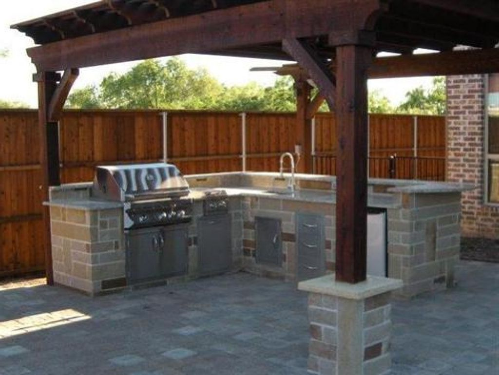 Miraculous Backyard Bbq Area Design Ideas  Backyard bbq pit