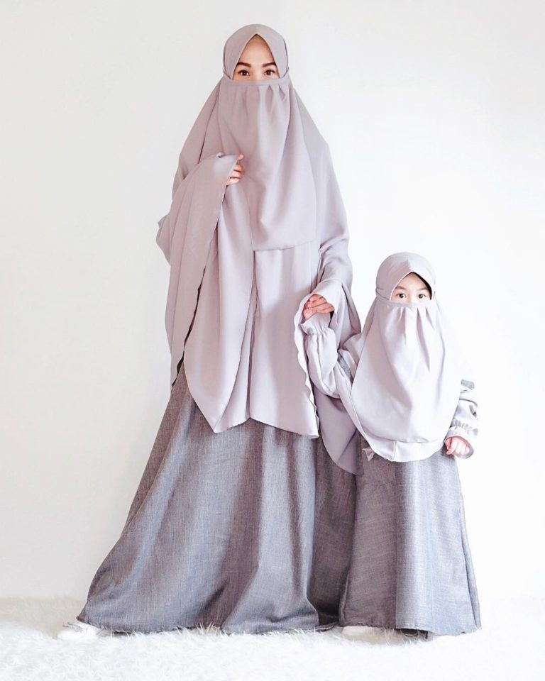 Model Gamis Bercadar Mode Abaya Jilbab Cantik Gaun Bayi Perempuan