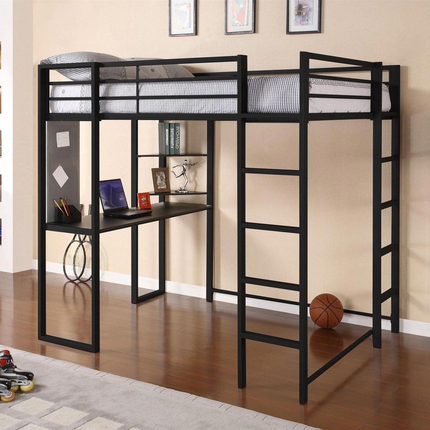 Loft bed ideas diy  Abode Full Loft Bed udbunkbedideasforsmallroomsud  bunk bed ideas