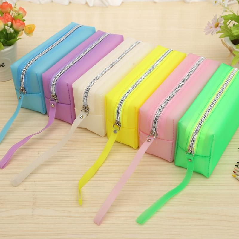 Noverty Colorful Large Capacity Pencil Bag Fountain Pen Case School Supplies Pencil Us 2 60 In 2020 Pencil Bags Pencil Case Writing Supplies