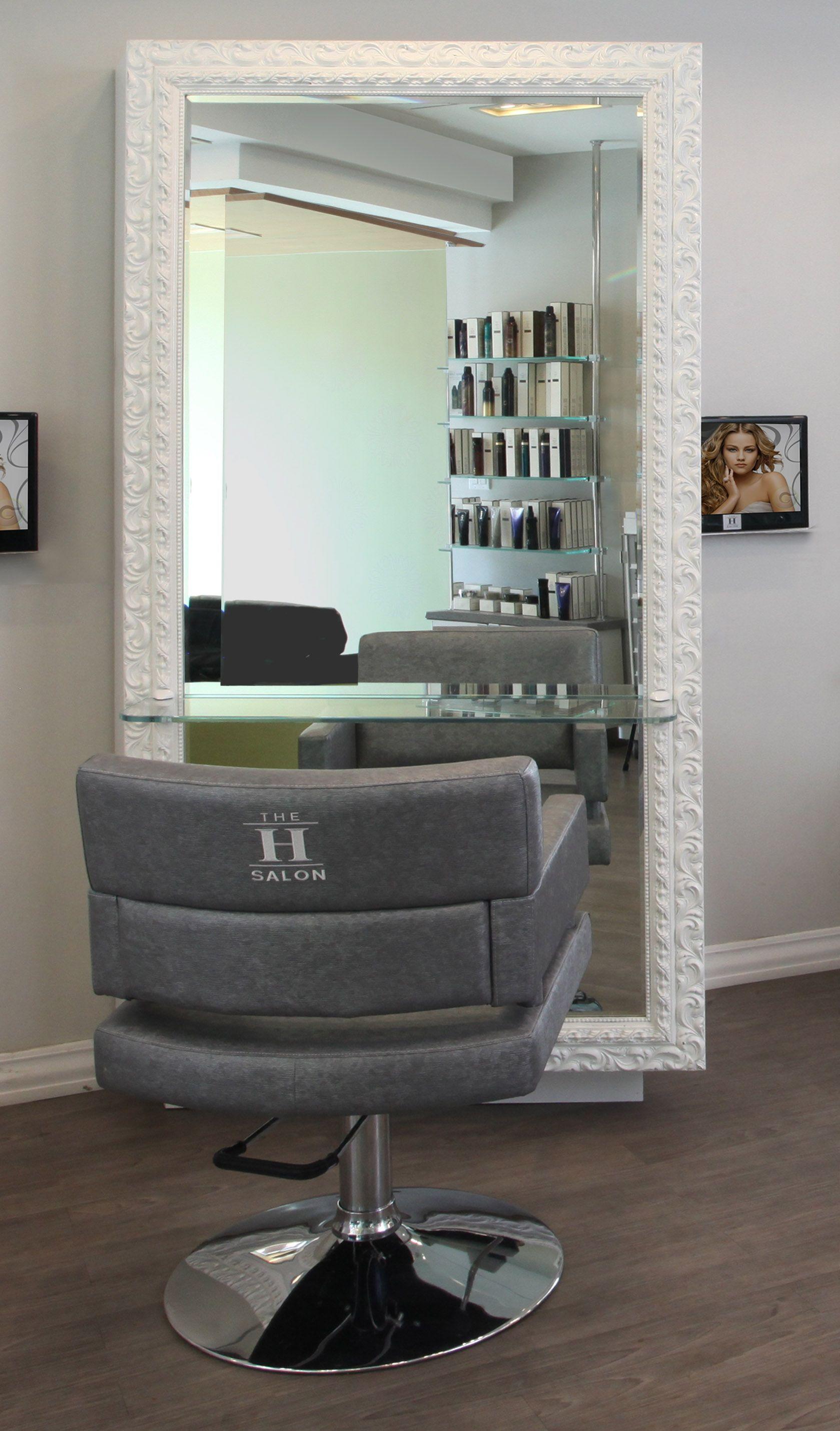 #clientstation #interiordesign #chair #largemirror #woodfloors #hairsalon  #design #archinteriors